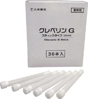 Taiko pharmaceutical cleverin G stick type refill refill units: 1 box (enter the number: 36) JAN [4987110010654] (Taiko pharmaceutical mouthwash) great seafood chemicals co., Ltd.