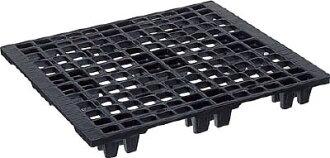供NPC出口捆包使用的塑料调色板EX1210单面四面八方旋律黑销售学分:1(进入数量:-)JAN[-](NPC调色板)块日本普拉调色板株式会社