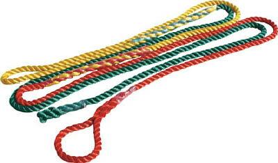 つくし 3色介錯ロープ 5M【3256】 販売単位:1本(入り数:-)JAN[4580284633881](つくし ベルトスリング) (株)つくし工房【05P03Dec16】