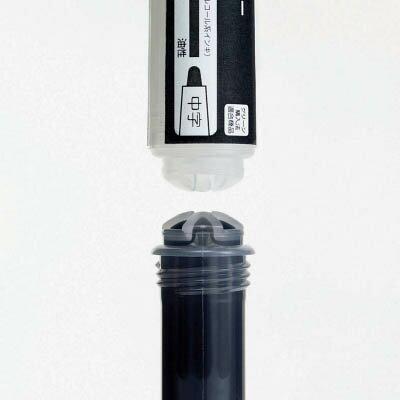 ライオン ホワイトボードマーカーWH−51専用インキカートリッジ 黒 24555【WH51CBK】 販売単位:1本(入り数:-)JAN[4903331245552](ライオン オフィスボード) (株)ライオン事務器【05P03Dec16】