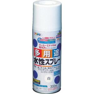 アサヒペン 水性多用途スプレー300ML 白【565013】 販売単位:1本(入り数:-)JAN[4970925565013](アサヒペン 塗料) (株)アサヒペン【05P03Dec16】