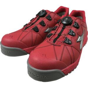 ディアドラ DIADORA安全作業靴 フィンチ フィンチ 赤/銀/赤 25.5cm【FC181255】 販売単位:1足(入り数:-)JAN[4548890249001](ディアドラ プロテクティブスニーカー) ドンケル(株)【05P03Dec16