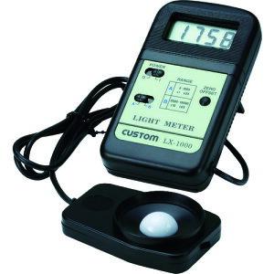 カスタム 照度計【LX1000】 販売単位:1個(入り数:-)JAN[4983621201000](カスタム 環境測定器) (株)カスタム【05P03Dec16】