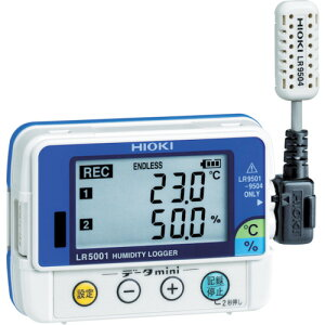 HIOKI 温湿度ロガー【LR5001】 販売単位:1個(入り数:-)JAN[4536036000524](HIOKI 温度計・湿度計) 日置電機(株)【05P03Dec16】