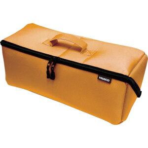 TRUSCO 大開口布製工具ケース オレンジ 420mm【TDTC420OR】 販売単位:1個(入り数:-)JAN[4989999348897](TRUSCO ツールホルダ・バッグ) トラスコ中山(株)【05P03Dec16】