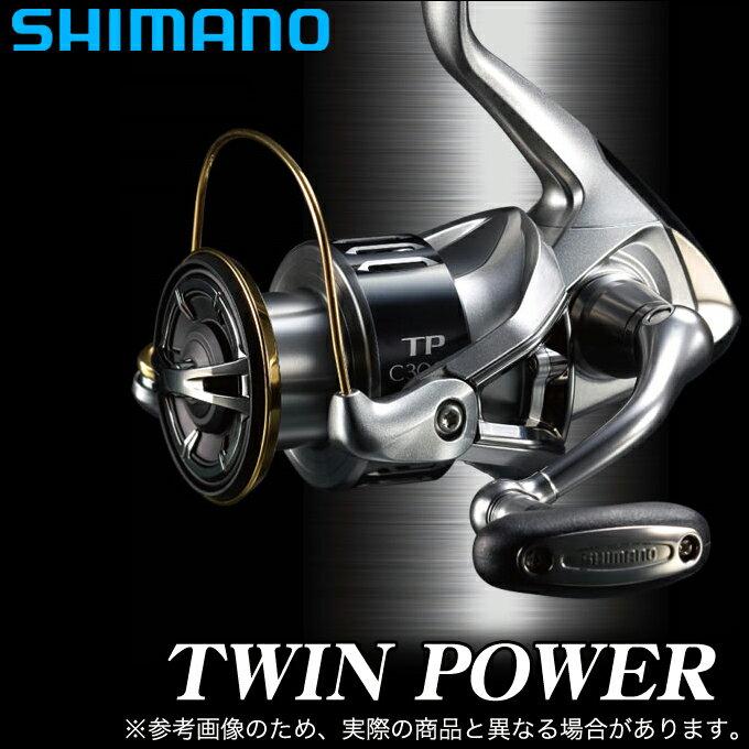 (5) シマノ ツインパワー (C3000) /スピニングリール/TWIN POWER/SHIMANO/NEW/2015年モデル/汎用