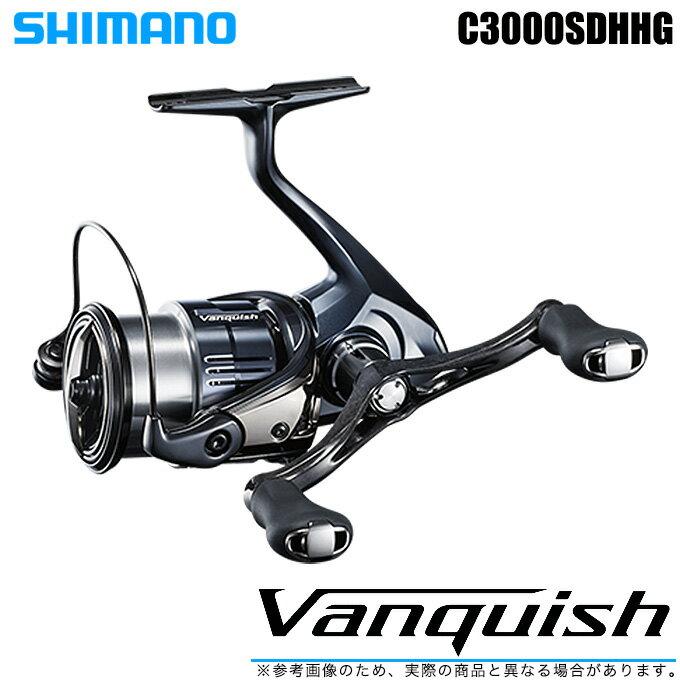 (5)【送料無料】シマノ 19 ヴァンキッシュ C3000SDHHG (2019年モデル) /スピニングリール/SHIMANO/NEW Vanquish/バンキッシュ/汎用/