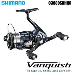 (5)シマノ 19 ヴァンキッシュ C3000SDHHG (2019年モデル) /スピニングリール/SHIMANO/NEW Vanquish/バンキッシュ/汎用/