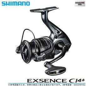 (5)【送料無料】 シマノ エクスセンス CI4+ C3000MHG (2018年モデル) /スピニングリール/SHIMANO/Exsence CI4+/NEW