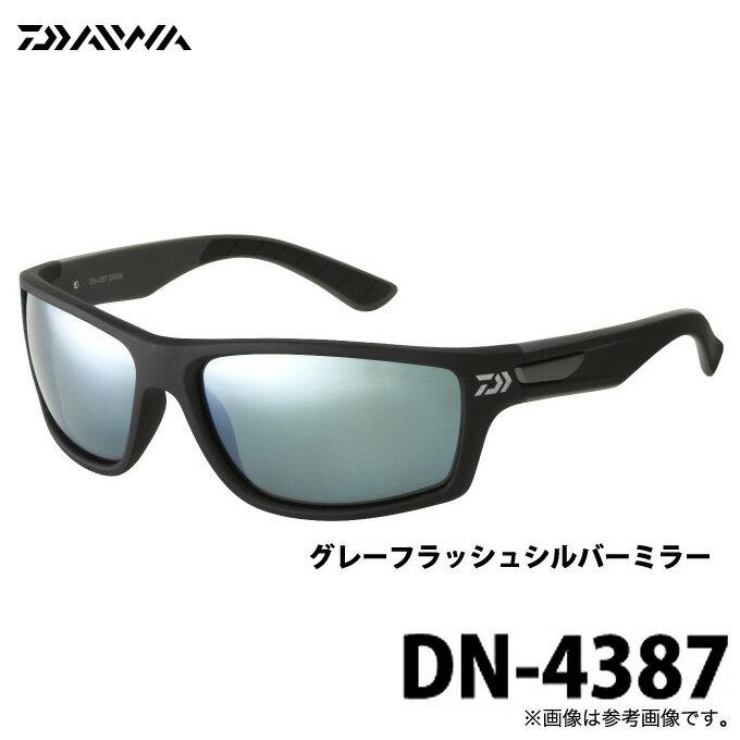 (5)ダイワ 偏光グラス DN-4387 (レンズカラー:ググレーフラッシュシルバーミラー) DN-4000 シリーズ (ポリカーボネイト偏光グラス)/サングラス/釣り/スポーツ/アウトドア/ジョギング/ランニング/ファッション/グロ−ブライド/DAIWA