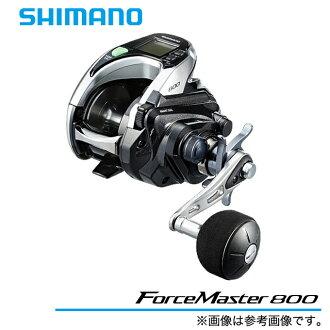 (5) Shimano力量主人800(右側方向盤)  /電動繞線機/船釣魚/SHIMANO/ForceMaster/2015年齡型號/