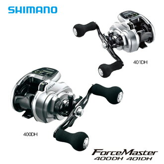Shimano force master 401 DH (left handle) / electric reel /ForceMaster/SHIMANO