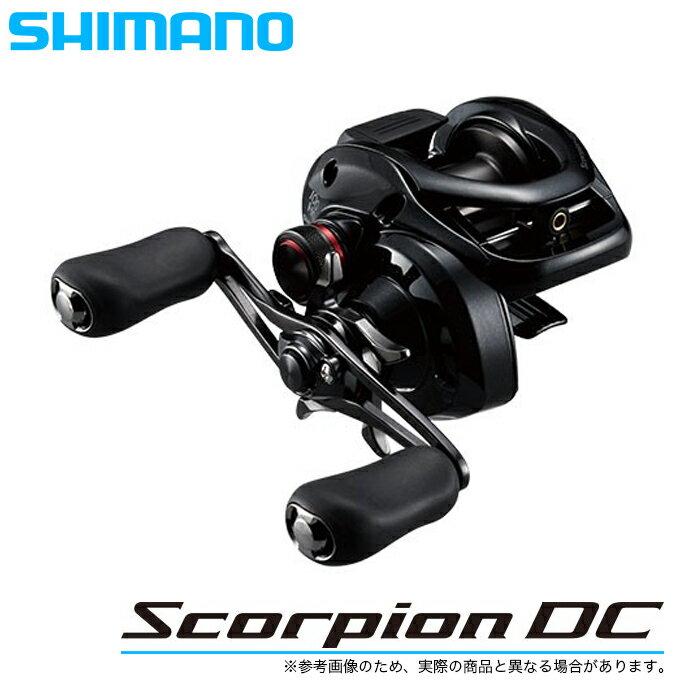 (5)シマノ 17 スコーピオンDC 100HG RIGHT (右ハンドル) (2017年モデル) /ベイトキャスティングリール/釣り/ブラックバス/Scorpion DC/SHIMANO/NEW