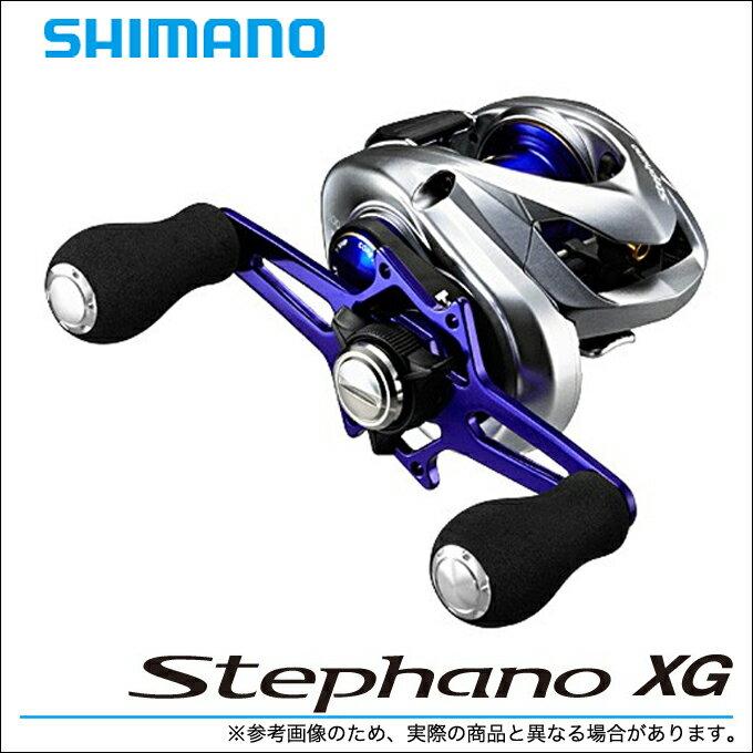 シマノ ステファーノ XG (100XG)(右ハンドル)  (2016年モデル) /カワハギ/船釣り/手巻きリール/カウンター付き/SHIMANO