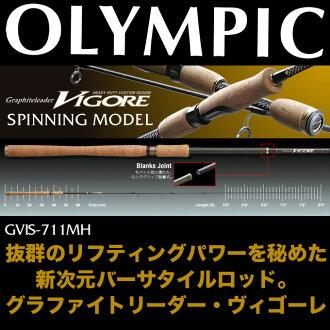 奧林匹克有限公司活力的使用者交互性特點-711MH (旋轉杆模型) / 浴路奧林匹克/VIGORE / 格拉領袖 /Graphiteleader