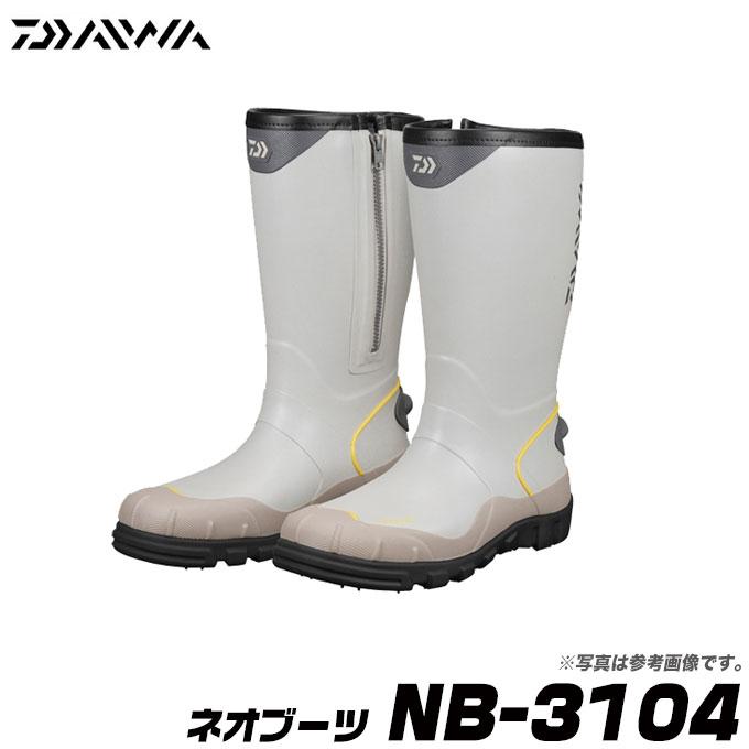 【メーカー取り寄せ】ダイワ ネオブーツ NB-3104 (スパイク) /長靴/磯ブーツ/DAIWA/NEO BOOTS/SPIKE SOLE