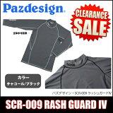 パズデザインPSLラッシュガードIV[SCR-009]/UVカット/日焼け対策/吸汗速乾素材/RASHGUARD