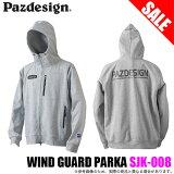Pazdesign(パズデザイン)ウインドガードパーカSJK-008/2018年新色