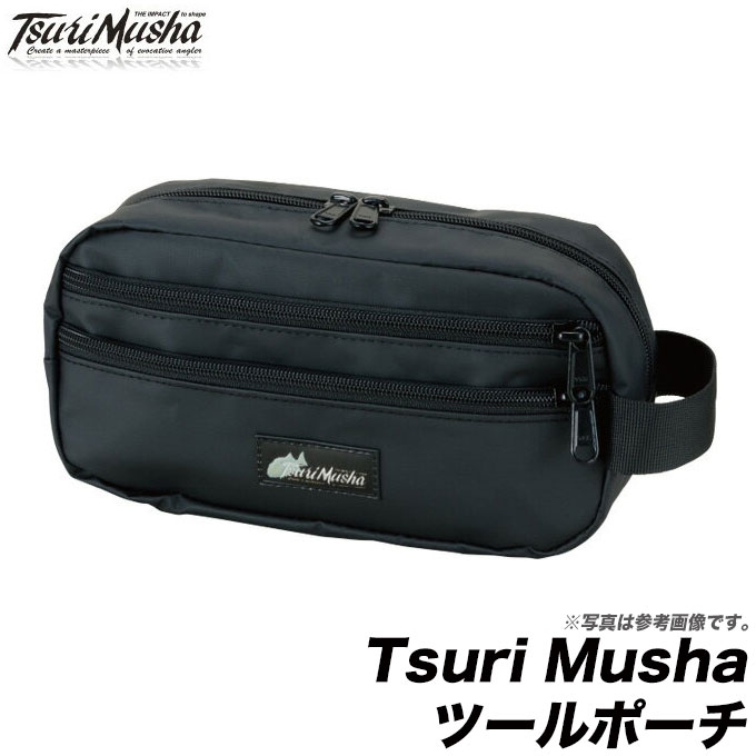 (9)【取り寄せ商品】【メール便配送可】 釣武者 Tsuri Musha ツールポーチ /ネコポス可