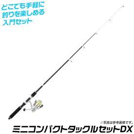 (5) プロマリン ミニコンパクトタックルセットDX [165](ロッド・リールセット) /釣り竿/釣具/海釣り/お子様にもぴったり/サビキ釣り入門や波止釣りに。
