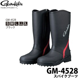(c)【取り寄せ商品】 がまかつ スパイクブーツ (GM-4528) (カラー:ブラック) /Gamakatsu /2019年モデル /1s6a1l7e-wear