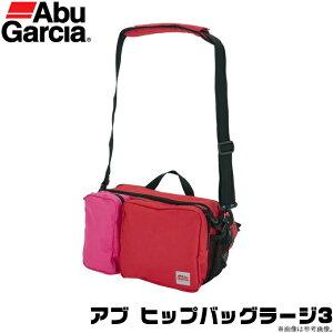 (c)【取り寄せ商品】 アブガルシア ヒップバッグラージ3 (カラー:レッド×ピンク) /鞄・バッグ /2020年モデル /アブ ガルシア /AbuGarcia