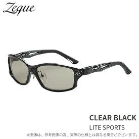(c)【送料無料】【取り寄せ商品】 Zeque STELTH F-1923 クリアブラック (LS) (ゼクー ステルス) (サングラス/偏光グラス)
