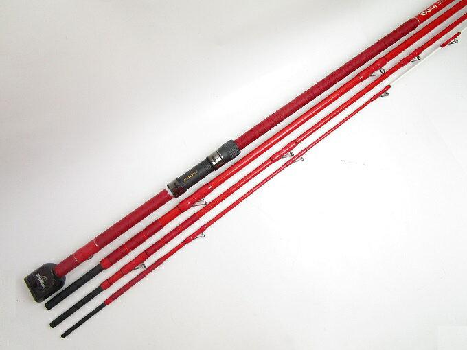 (2)【中古】【送料無料】釣武者 赤鬼 ZERO 500/石鯛竿/底物/釣具