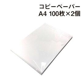 紙屋が選んだ! コピーペーパー A4(210×297mm) 100枚×2個