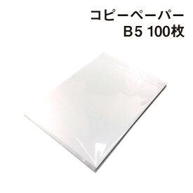 紙屋が選んだ! コピーペーパー B5(182×257mm) 100枚