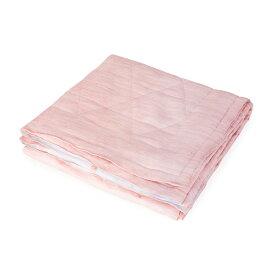 和柄文様 洗える本麻夏掛ふとん 籠目 薄紅 シングルロング SAH1644CPI-SL 麻寝具 日本製 丸三綿業