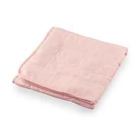 和柄文様 洗える麻敷パッド 籠目 薄紅 シングル ASP1644CPI-S 麻寝具 日本製 丸三綿業