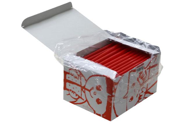 タピオカストロー【赤】130本 【タピオカドリンク】【学祭】【バザー】