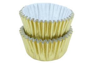 チョコJPカップ 金 2山(20枚) 【チョコレート・プチケーキ用】【オーブン可】