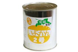 【マルサンパントリーオリジナル】伊予柑シラップ漬け 2号缶