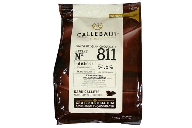 カレボー 811カレット54.5% 1.5kg 【6〜9月夏季クール便】【クーベルチュールチョコレート】