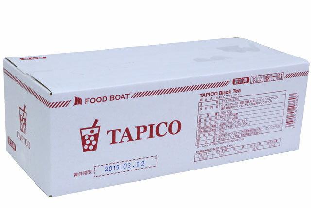 【F】【業務用】TAPICO ブラックティー 88g×24(タピオカ) クール便扱い商品 ※受注発注商品のため1週間程お時間をいただく場合があります。