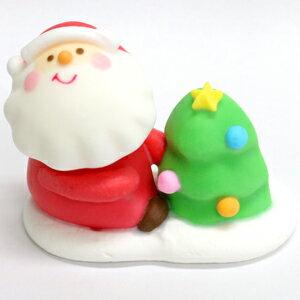 【N】≪クリスマスメレンゲ≫ハッピーツリーサンタ 1個(クリスマス限定商品)※賞味期限2019.6.30