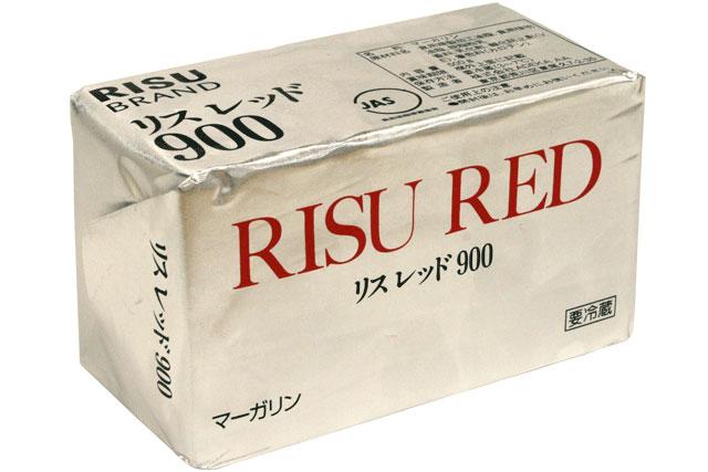 【C】無塩マーガリン(リスレッド900) 500gクール便扱い商品
