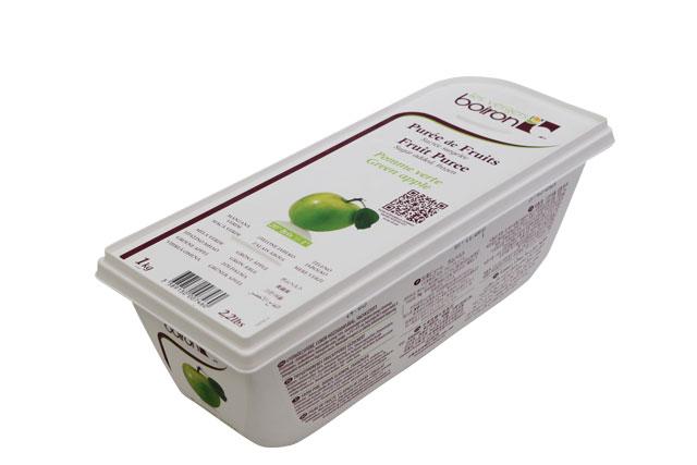 【F】ボワロン冷凍ピューレ ポムベルト 1kg【青りんご】クール便扱い商品