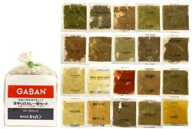 GABAN手作りカレー粉セット気分はカレー屋さん♪20種類のスパイスで誰でも簡単に絶品カレーが作れます!