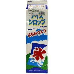 【N】フジスコ 氷シロップ 1.8L【ラムネ】※受注発注商品