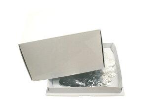 【デコレーションケーキ用ボックス】かぶせデコ箱5寸ホワイト 1枚