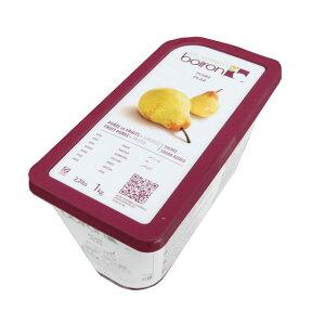 【F】ボワロン 冷凍ピューレ ポワール 1kg 洋なし