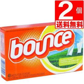 バウンスシート40枚入 Bounce Sheets 乾燥機用ドライシート 40枚×2個[送料無料] バウンス シート エイプリル
