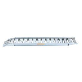 【SHOWA/昭和】アルミブリッジ 最大積載重量0.8t/セット SBAG-240-30-0.8[ゴムシュー・ホイル用/コンバイン用]