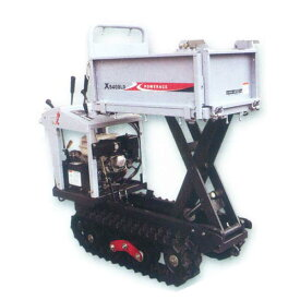 【atex/アテックス】石材用クローラ運搬車 『力石 XS400LDH』[油圧リフトorダンプ]