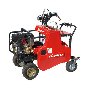 【KIORITZ/共立】自走式ラジコン動噴 『VRC457F3-8』 ラジコン付き/ガソリンエンジン/自走タイプ[セット動噴 動力噴霧機]