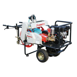 【KIORITZ/共立】自走式キャリー動噴 『VSC361B』 ガソリンエンジン/自走タイプ[セット動噴 動力噴霧機]