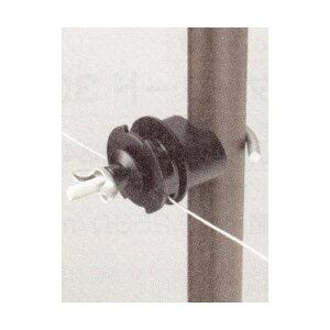 【末松電子】ゲッターパイル(樹脂被膜鋼管支柱)用ガイシ 『Eガイシ大』 10個〈品番304〉[電気さく 電柵 ゲッターシリーズ]